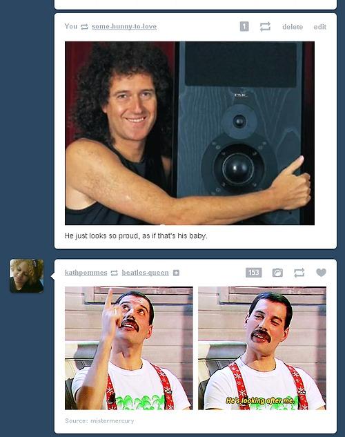 Brian and Freddie