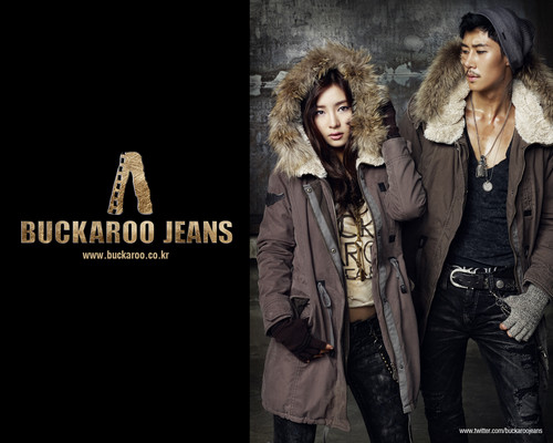 Shin Se Kyung wallpaper containing a fur coat titled Buckaroo Jeans