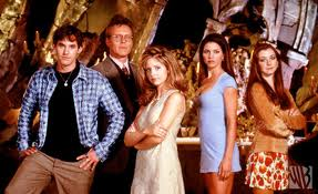Buffy, Xander, Giles, Willow, and Cordelia