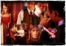 Buffy and Giles with a little Angel