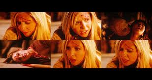 Buffy during the final battle