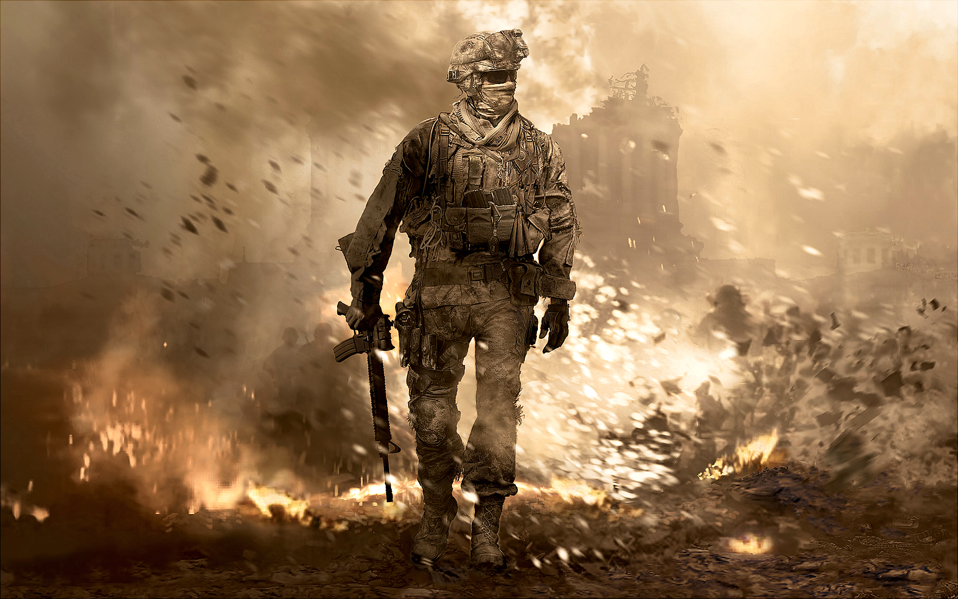 Call Of Duty Games Images COD Modern Warfare 2 HD Wallpaper And Background Photos