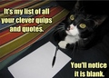 Cat ♥ - quotes photo