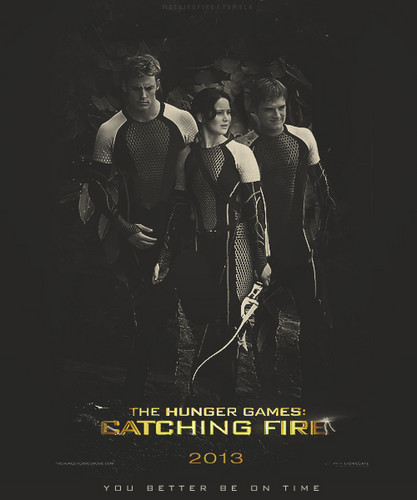 Finnick Odair Mockingjay Poster
