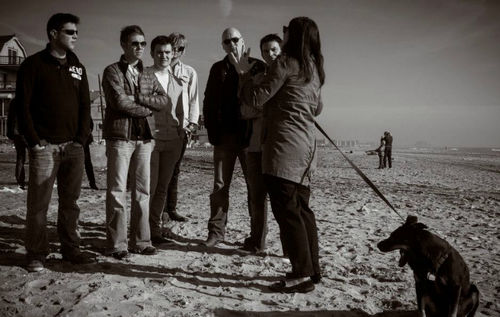 Celtic Thunder helping Hurricane Sandy victims at Rockaway Beach, NY