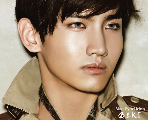 Changmin with Blue Eyes :)