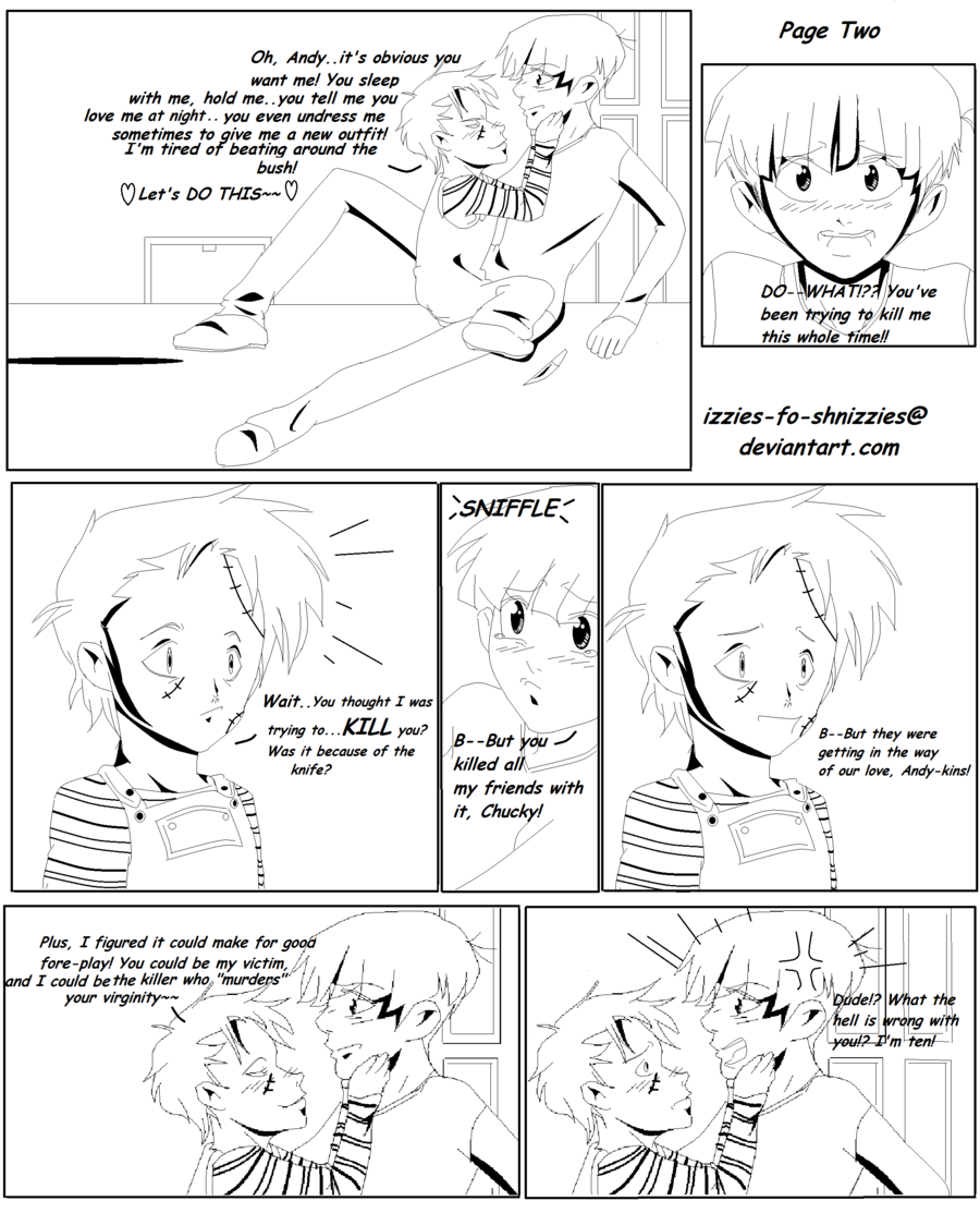 Child's Play Doujinshi Pg 2