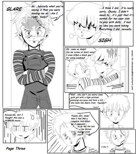 Child's Play Doujinshi Pg 3