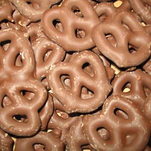 chocolat Pretzels