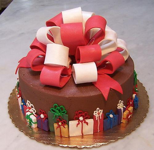 giáng sinh cake