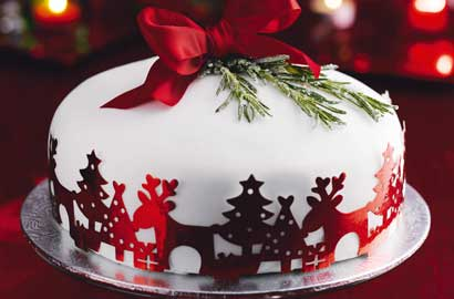 Weihnachten cake