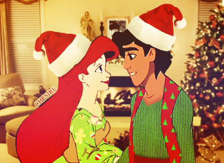 Natale with Ariel & Aladdin