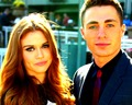colton-haynes - Colton Haynes and Holland Roden wallpaper