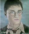 Daniel Radcliffe-Harry Potter Drawing - harry-ron-and-hermione fan art