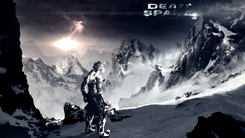 DarkCruz360 wallpaper possibly containing a sunset, a ski resort, and an alpinist called Dead Space 3
