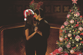 Delena Christmas - damon-salvatore photo