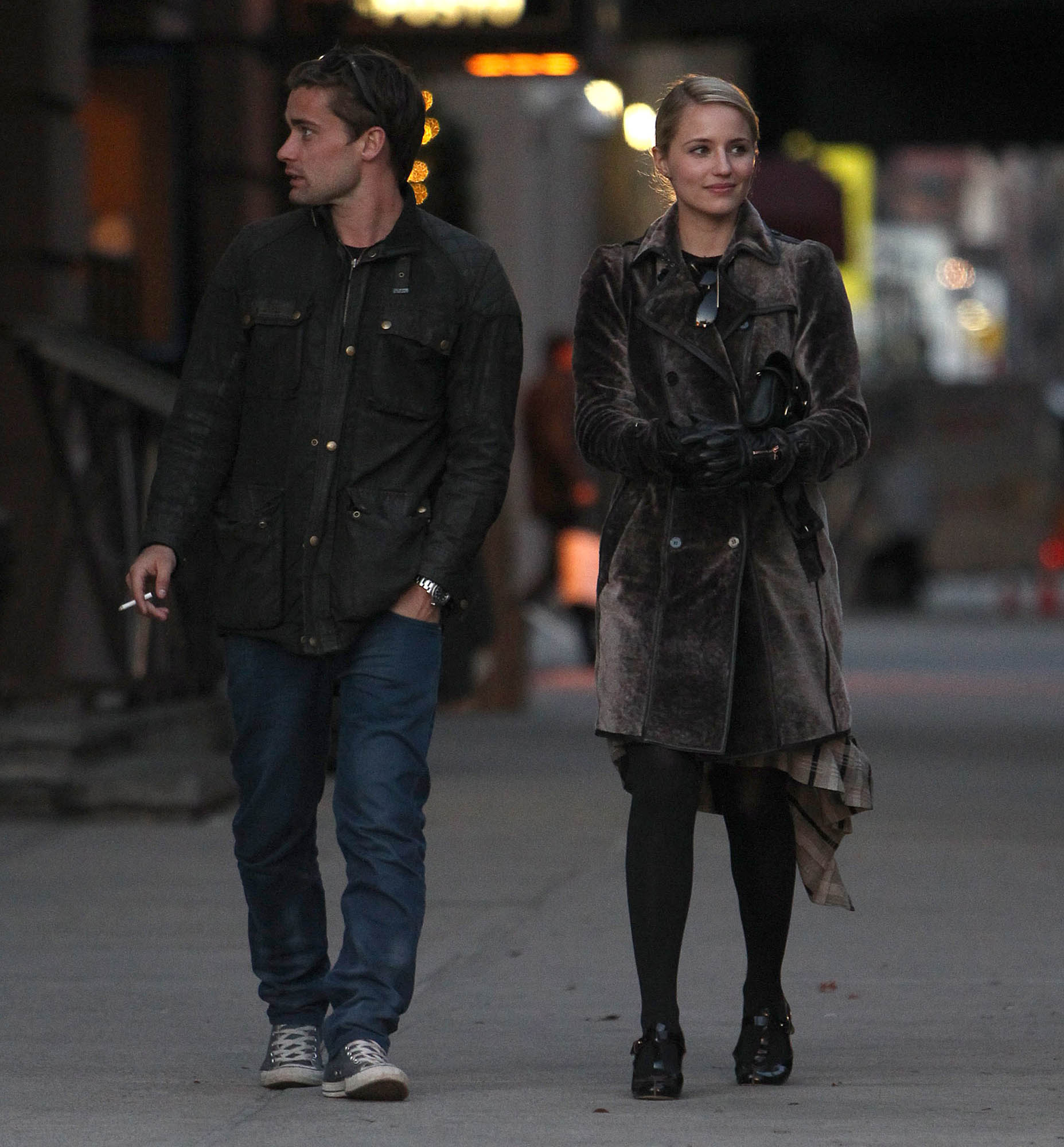 Dianna Agron & Christian Cooke Holding Hands In NYC ...