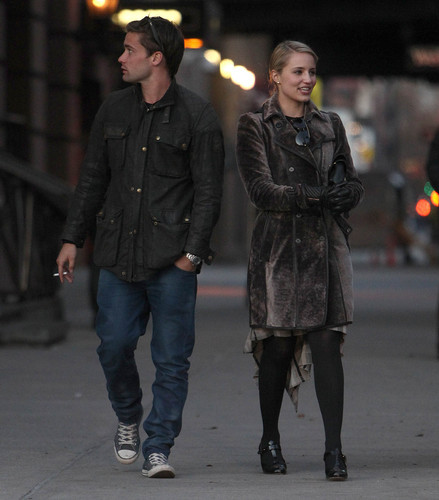 Dianna Agron & Christian Cooke Holding Hands In NYC - November 14, 2012
