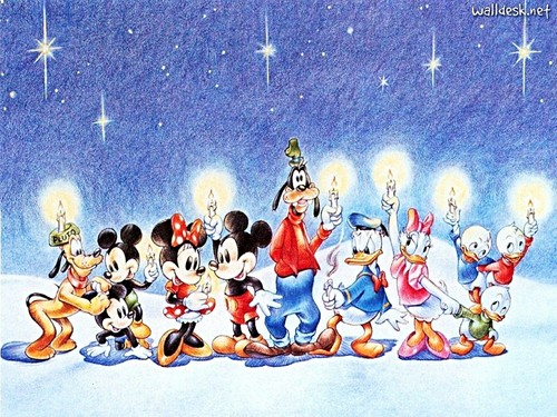 Disney Wallpaper Titled Christmas
