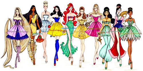 disney Leading Ladies wallpaper entitled disney Leading Ladies