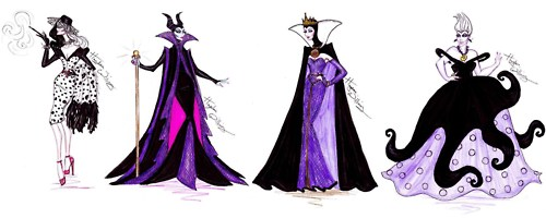 Disney Villains karatasi la kupamba ukuta entitled Disney Villains
