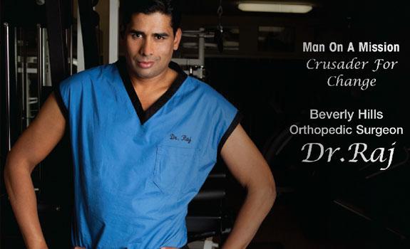 Dr  Raj - Celebrity Orthopedic Surgeon and Fitness Expert