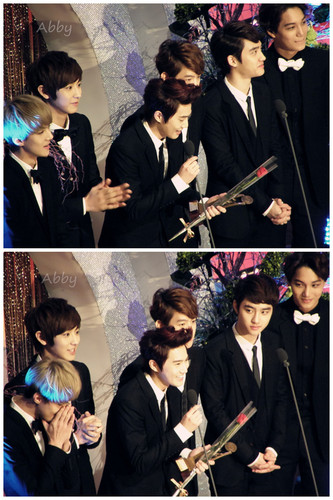 EXO-K @ 19th Korean Entertainment Arts Awards
