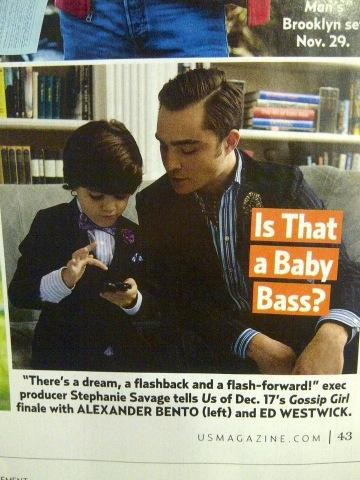 Ed is on US Weekly magazine!