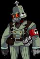 Egret Soldier