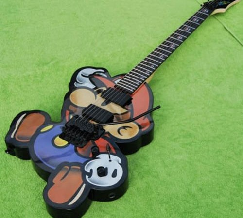 Epic Mario Electric violão, guitarra