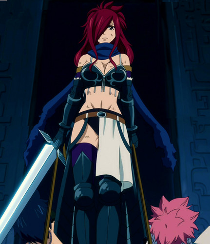Erza Scarlet wallpaper called Erza Knightwalker
