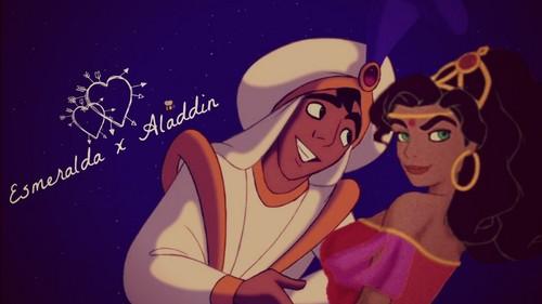 Esmeralda x Aladdin