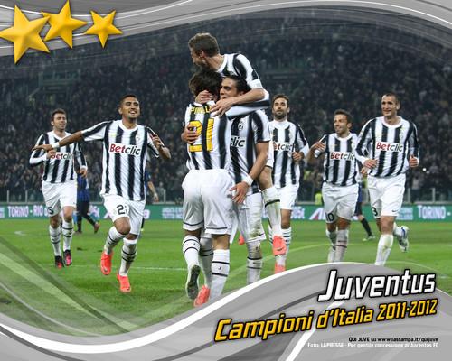 FC Juventus campioni d'italia 2012