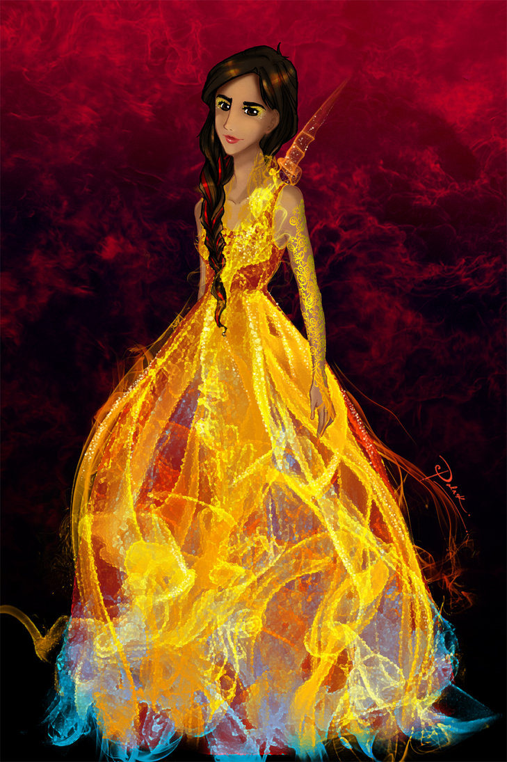 Fan art - Katniss Everdeen Fan Art (32900382) - Fanpop