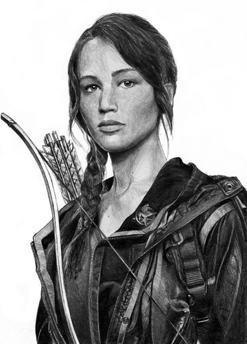 Katniss Everdeen wallpaper titled Fan art
