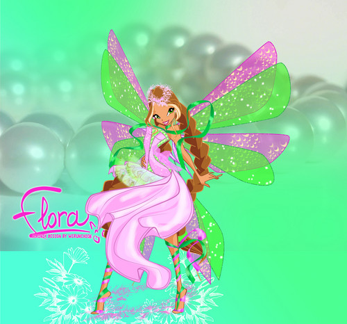 The Winx Club images Flora Sirenix :) HD wallpaper and ...