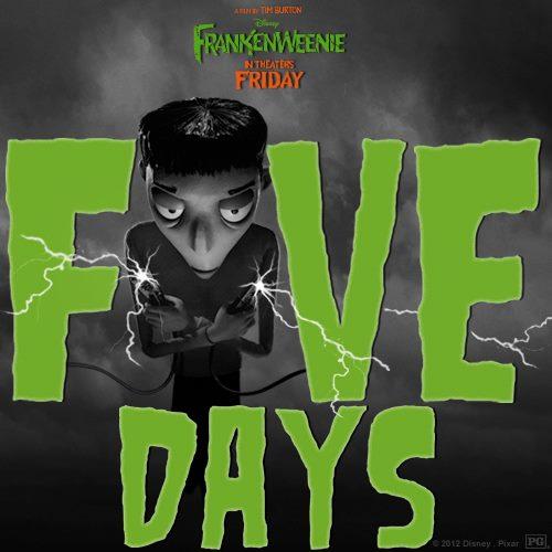 Frankenweenie Facebook Countdown