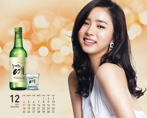 Shin Se Kyung wallpaper containing a portrait titled Fun Yeah Soju