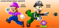 Future Luigi and son - super-mario-bros fan art