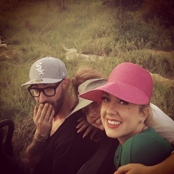 Gaga, Tara & DJWS - Safari in South Africa