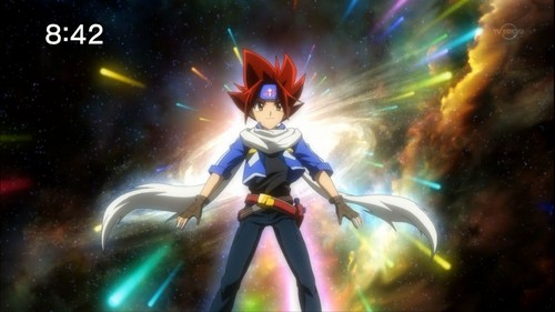 Beyblade Metal Fusion wallpaper called Gingka in Zero-G
