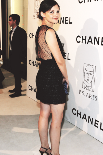 Ginnifer Goodwin at the Chanel and PS Arts Event