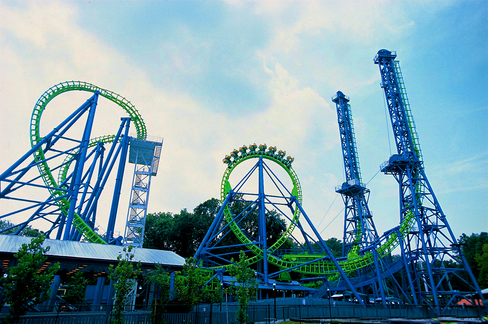 Rollercoasters Images Six Flags New England Goliath Hd Wallpaper And Background P Os