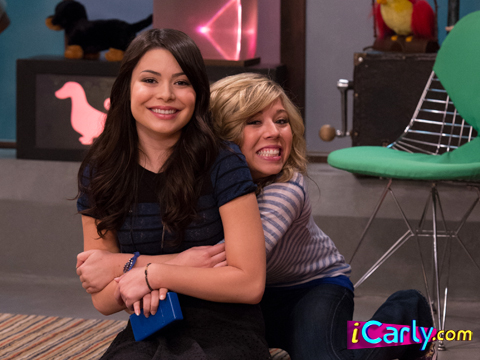 iCarly wallpaper possibly with a sign and a living room entitled Goodbye