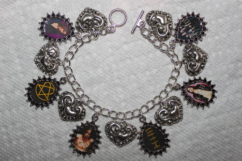 HIM charm bracelet
