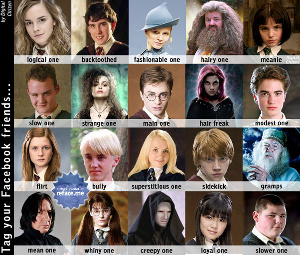 Harry potter hp characters