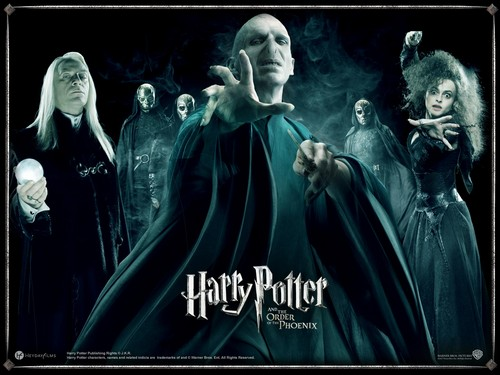 Harry Potter Hintergrund titled HP characters