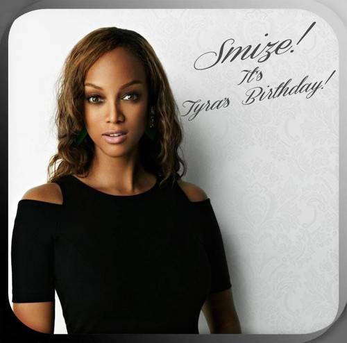 Tyra Banks wallpaper containing a portrait titled Happy Birthday #39 TyTy!!