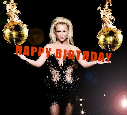 Britney Spears achtergrond probably with a concert entitled Happy Birthday Britney!