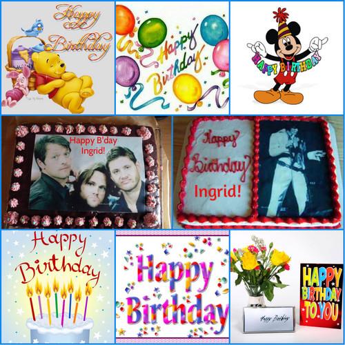 Happy Birthday Ingrid ♥